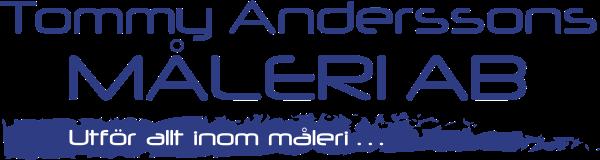 Tommy Andersson Måleri AB